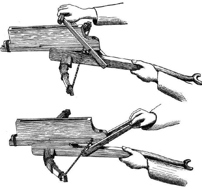 Древний многозарядный скорострельный арбалет Чо-Ко-Ну