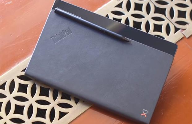Первый ноутбук с гибким экраном (5 фото + видео)