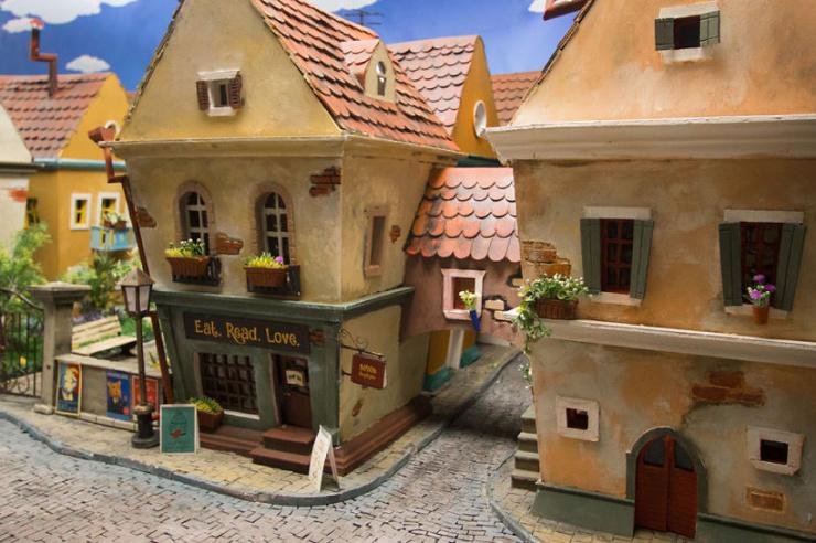 Хомякополис — миниатюрный город хомяков, который выглядит лучше, чем твой (24 фото)