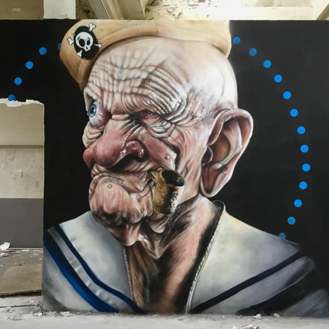 Cool graffiti from the French master 3