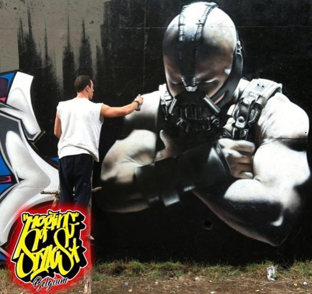 Cool graffiti from the French master 18