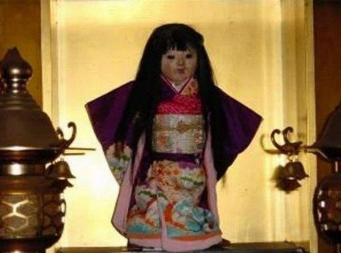 Японская кукла с растущими волосами