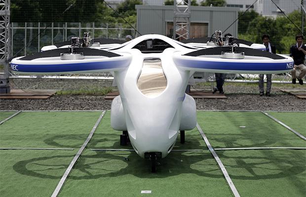 Первый пассажирский дрон