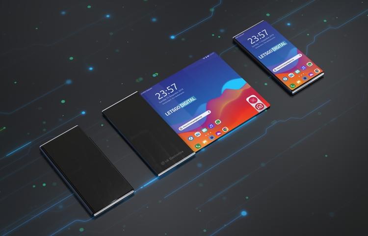 LG проектирует смартфон с дисплеем-обёрткой ( 4 фото )