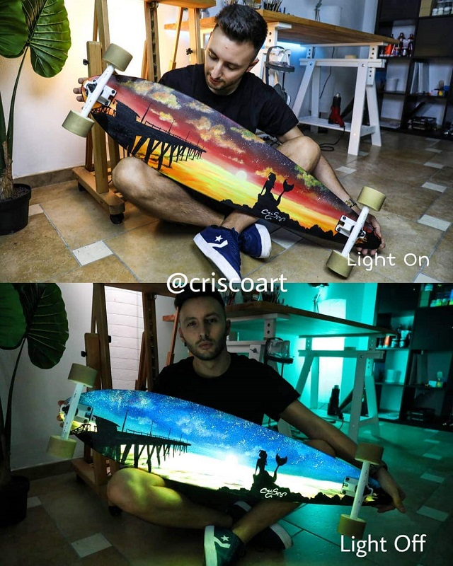 Amazing paintings of the Italy artist (28 photos) 23