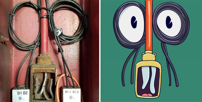 The artist turns ordinary objects into funny Disney characters (30 photos) 20