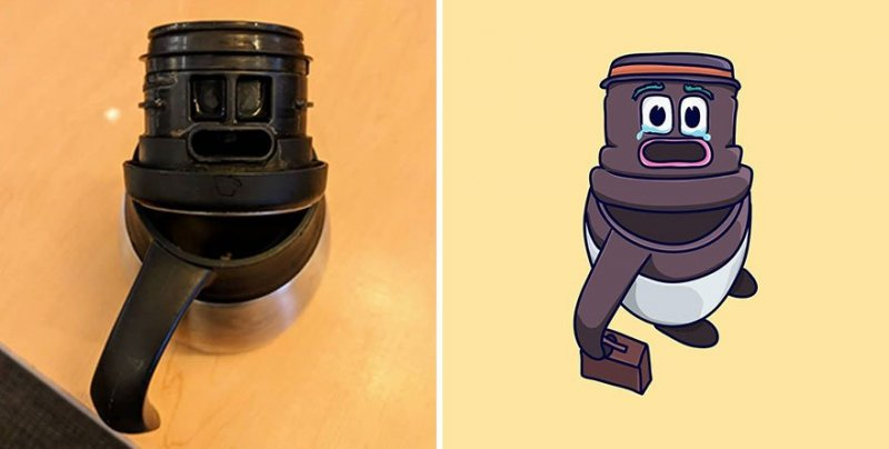The artist turns ordinary objects into funny Disney characters (30 photos) 26