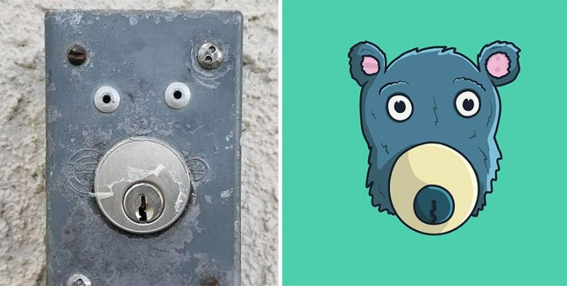The artist turns ordinary objects into funny Disney characters (30 photos) 27