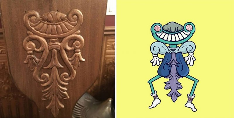 The artist turns ordinary objects into funny Disney characters (30 photos) 5