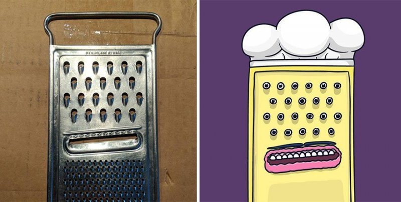 The artist turns ordinary objects into funny Disney characters (30 photos) 14