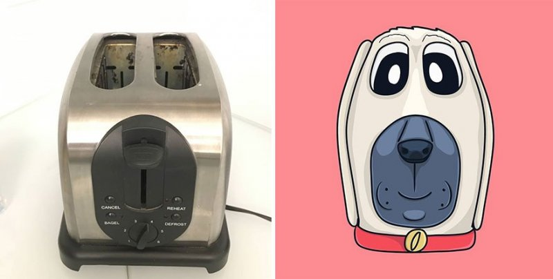 The artist turns ordinary objects into funny Disney characters (30 photos) 13