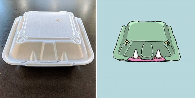 The artist turns ordinary objects into funny Disney characters (30 photos) 6