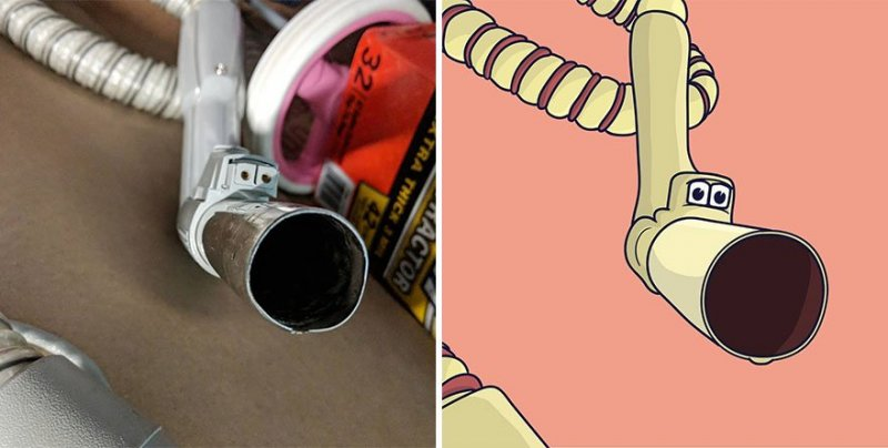 The artist turns ordinary objects into funny Disney characters (30 photos) 16