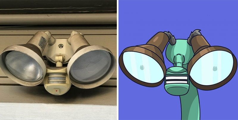 The artist turns ordinary objects into funny Disney characters (30 photos) 1