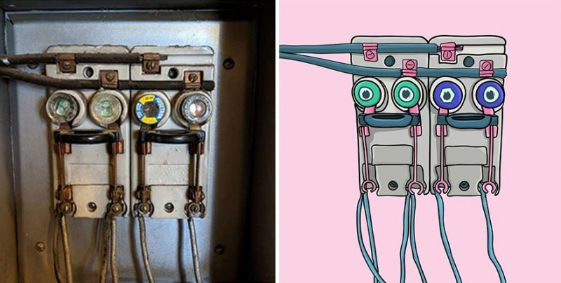 The artist turns ordinary objects into funny Disney characters (30 photos) 15
