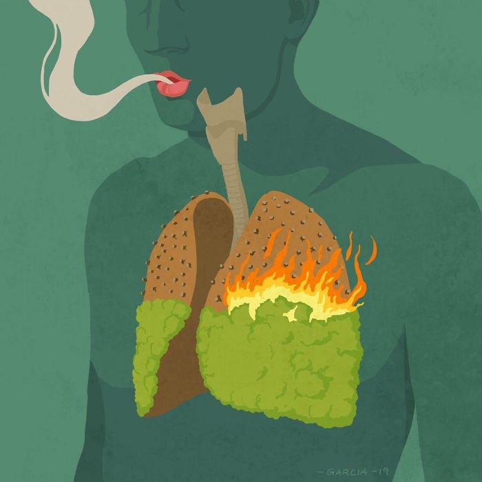 22 иллюстрации художника Даниэля Гарсия, показывающие, что не так с нашим обществом