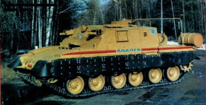 Танк «Ладога», который создавался для ядерной войны, а в итоге пригодился в Чернобыле