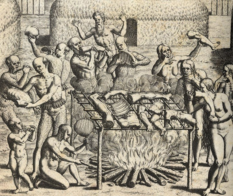 В 17-18 веке был распространён «медицинский каннибализм»