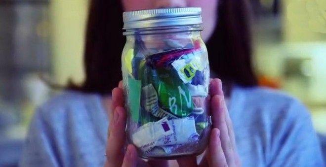 Эта девушка доказала, что можно жить, не оставляя после себя мусор (7 фото)