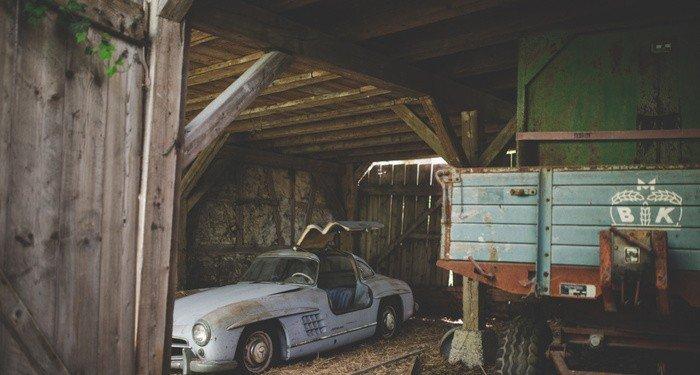 Находка в старом сарае на миллионы долларов (14 фото)