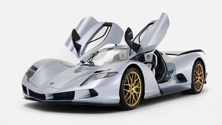 Серийный электромобиль мощностью более 2 000 л.с.
