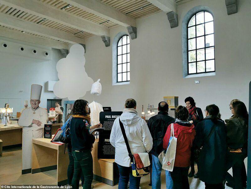 Музей, где посетителям разрешается есть экспонаты