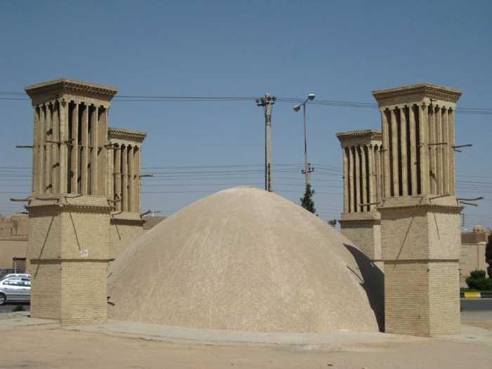 Какими были доисторические холодильники Ирана