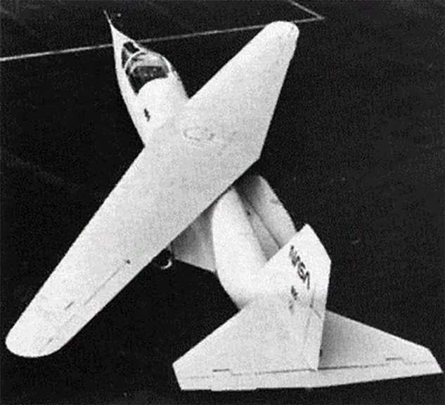 Самолет с кривым крылом ( 17 фото )