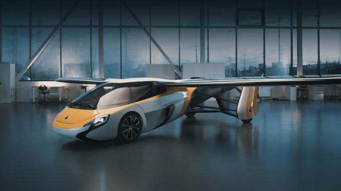 Концепты машин, умеющих трансформироваться и приобретать новые возможности
