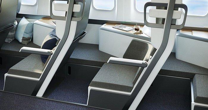 Теперь пассажирам эконом-класса можно лежать во время полета