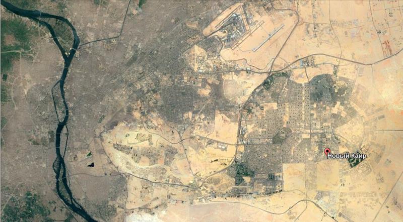 Египет достраивает гигантский город в пустыне, который станет новой столицей (7 фото)