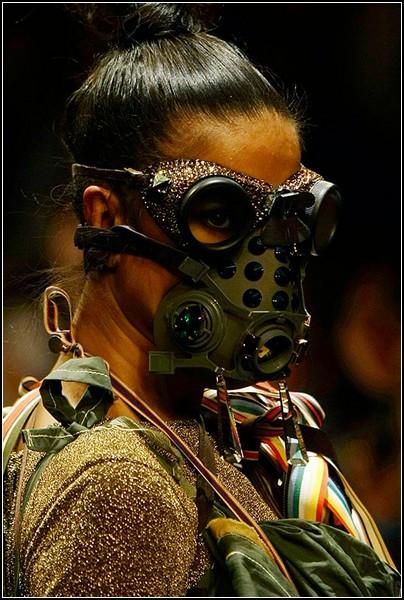 Самые необычные маски противогаза