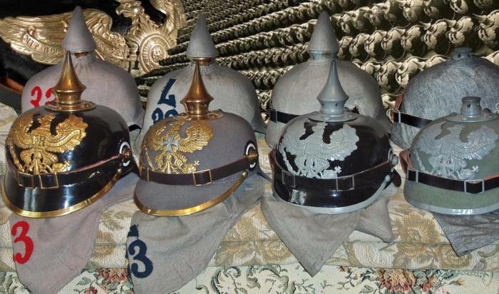 Что за пика украшала каски немецких солдат: какую функцию она выполняла