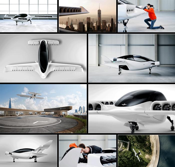 Зачем в концепте воздушного такси 36 двигателей?