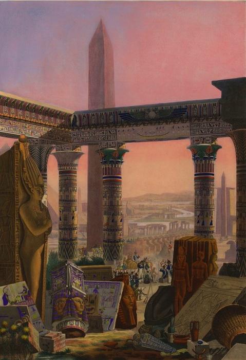 Где в Санкт-Петербурге можно встретить отголоски моды на египтологию
