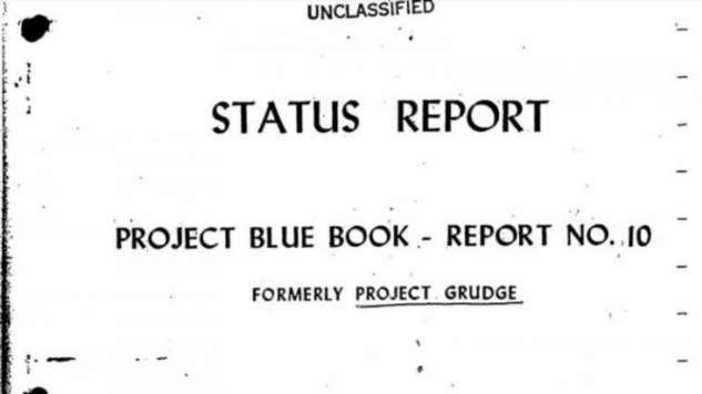 Синяя Книга: как американские военные тайно искали НЛО (8 фото)
