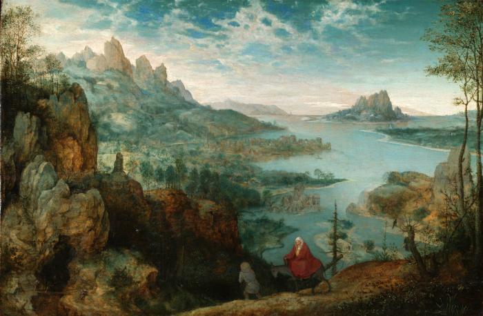 В чём секрет пейзажей известных художников
