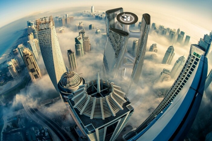 В Дубае появится небоскреб в виде спирали, вращающийся вместе с ветром