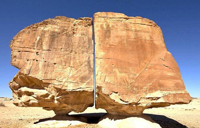 Загадка Аль Наслаа: кто разделил на пополам гигантский камень с «лазерной» точностью