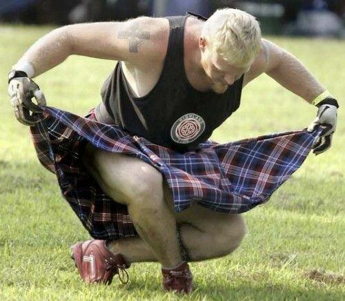 Почему мужчины в Шотландии носят юбки?
