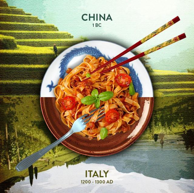 Истинное происхождение некоторых популярных продуктов питания