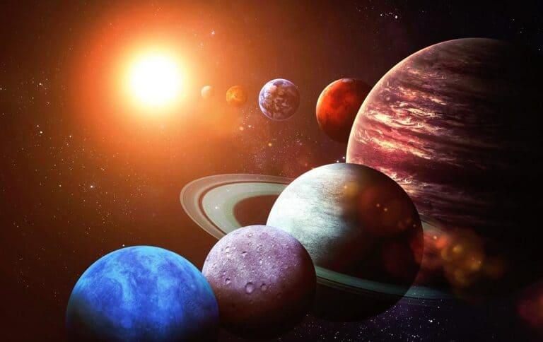 Порядок планет Солнечной системы и происхождение их названия